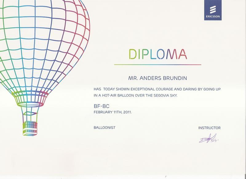 Diploma de administracao de empresas