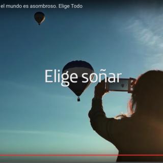 SPOT TV TELEFONICA 2016 ELIGE SOÑAR