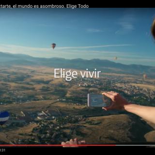 SPOT TV TELEFONICA 2016 ELIGE VIVIR